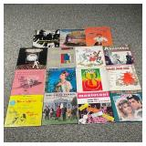 COLLECTION THEATRICAL & OTHER VINYL RECORDS