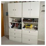 PAIR CONTEMPORARY CABINETS