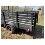 Fantastic Handmade trailer. 10x5 w/ramp available Now!