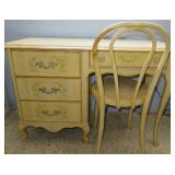 Vintage Broyhill Premier Desk/Vanity Table with Chair