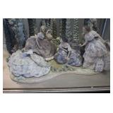D54 #10 Garden Party Lladro Elite Limited Edition (500) #1578 Retired 1999