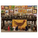 Pottery and Folk Art Auction