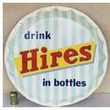 Hires bottle cap sign