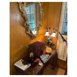 Horse themes, sofa table and mirror