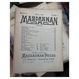 Mazdaznan  1920's CA