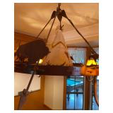 Native American chandelier