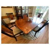 Mahogany dining room