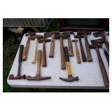 Wide variety of hammers