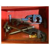 Pipe cutters several sizes