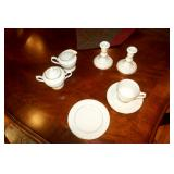 LENOX Fruits of Life Desert plates, and saucers  (10, 10)