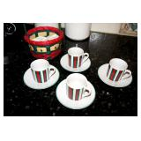 Italian espresso set