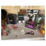 C RADKO and Waterford Chrystal ornaments