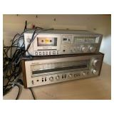 Technics Cassette player and Tuner