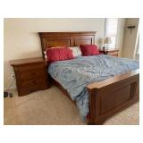 STANLEY King size bed (no mattress)