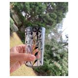 sterling silver etched glasses