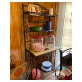 wine rack/ bakers rack (great for small spaces)