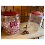 LARGE LAYS and LANCE jars