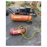 Aircompressor,  air tank