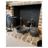 Iron Spider Cowboy Campfire Pots