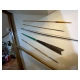 Spears and primitive bows