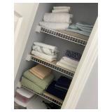 freshly laundered linens