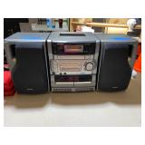 AIWA sterio, removable speakers