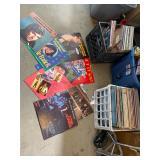 3 crates of vinyl/ records