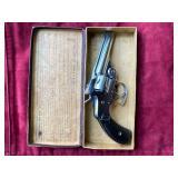 Late 1800s S&W 32 revolver
