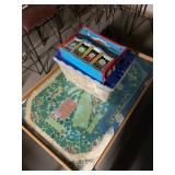 Thomas the Tank toys and game table