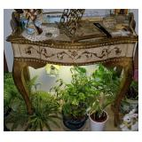 Small French Provincial Entry Table/ Desk
