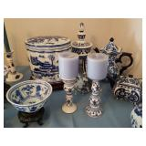 Lots of BLUE & WHITE Porcelain