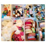 Lots of craft supplies