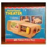 Vintage Fisher Price Theater with Cartidges