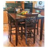 Pub Height Dining Room table & Chairs