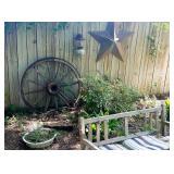Outdoor RUSTICS- Wagon Wheel, Texas Star, Milk Cans, et...