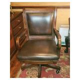 NICE Leather rolling office chair