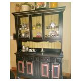 Show Stopping Black Distressed hutch - This is BEAUTIFUL !!!!