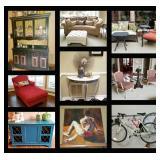 * 50% OFF SATURDAY!* 5,000 sf Estate - DESIGNERS DREAM SALE ! - All at Estate sale prices !!!!!