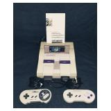 SUPER NES with GAMES