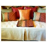 Designer bedding, pillows, Linen, etc....