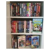 LOTS of VHS and DVD