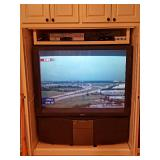SONY VIDEOSCOPE XBR TV with Remote