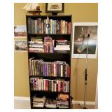 Several book shelves FULL of books