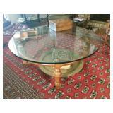 Beautiful Beveled glass coffee Table