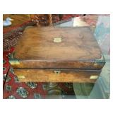 Antique writing/lap desk box