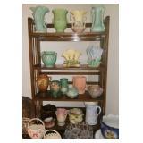 Roseville, McCoy, Hull & other misc pottery