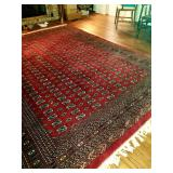 Beautiful room rugs throughout the house