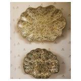 Mid Century Japanese Paper Mache bowls