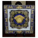 Great Rosenthal Blue Medusa VERSACE Dish/Tray
