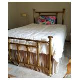Beautiful FULL SIZE Brass bed